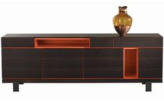 MODERN SIDEBOARD | sideboard ideas to your home | bocadolobo.com/ #modernsideboard #sideboardideas