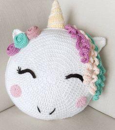 Unicorn/ unicorn gift/ crochet pattern/ unicorn pattern/ knit unicorn/ unicorn room decor/ stuffed unicorn/ pillow pattern/ knit pillow – The Best Ideas Unicorn Room Decor, Unicorn Rooms, Unicorn Gifts, Unicorn Bedroom, Unicorn Party, Crochet Motifs, Crochet Blanket Patterns, Knitting Patterns, Hat Patterns