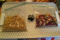 Freezer bag cooking - dehydrate, create & rehydrate your own meals. Great for preps and backpacking.
