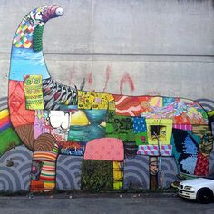 Le street-art de Brusk !