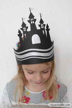 Faire une couronne pour la galette des rois |  ( à simplifier pour une classe de maternelle) Ciloubidouille