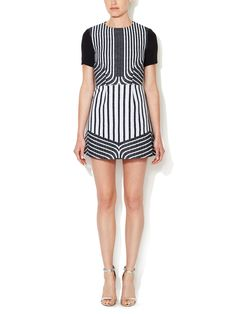 Striped Mini Dress by Peter Som at Gilt