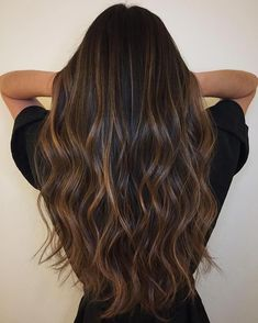 Trendy hair color ideas for brunettes balayage summer shops 65 ideas Hair Color Ideas For Brunettes Balayage, Brown Hair Balayage, Balayage Brunette, Brown Blonde Hair, Hair Highlights, Brown Dark Hair, Balyage For Dark Hair, Hair Styles For Brunettes, Black Hair With Lowlights