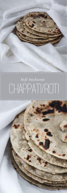 Easy buckwheat chappati