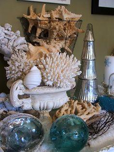 Coastal Christmas With Seashells