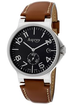 Asprey of London Return to Previous Page Men's Black Dial Certified Chronometer Watch With Date London Watch, Quartz Watch, Omega Watch, Jewels, Watches, Luxury, British, Gifts, Accessories