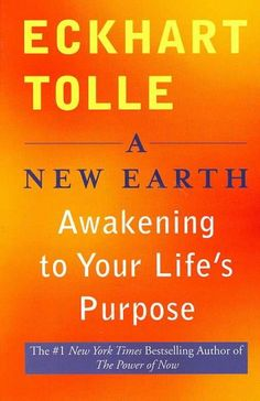 A New Earth, Eckhart Tolle. Main takeaway: Ego is the root of humanity's biggest problems, and we must transcend it if we are to awaken to a higher level of consciousness.
