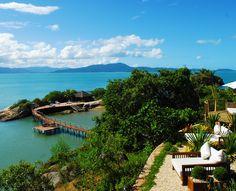 Ponta dos Ganchos Resort... um sonho em uma península particular. #brasil #viagem #luxo