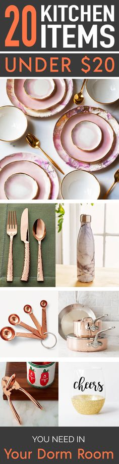 20 Kitchen Items Under $20 You Need In Your Dorm Room – SOCIETY19