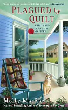 """Read """"Plagued By Quilt"""" by Molly MacRae available from Rakuten Kobo. **The latest novel in the national bestselling Haunted Yarn Shop Mystery series Yarn shop owner Kath Rutledge is at a hi. Cozy Mysteries, Best Mysteries, Murder Mysteries, I Love Books, Books To Read, My Books, Mystery Novels, Mystery Series, Reading"""