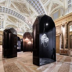 Via Lucis Exhibition at Milan Design Week in Palazzo Serbelloni - More at http://lasvit.com/milan-2016