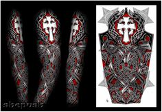 Sleeve tattoo Idea