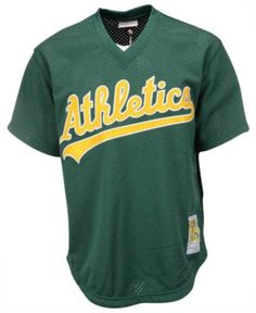 Men s Rickey Henderson Oakland Athletics Authentic Mesh Batting Practice  V-Neck Jersey eb43d135c