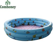 39.92$  Watch more here - http://aiv9n.worlditems.win/all/product.php?id=32408482969 - Baby Inflatable Bathtub Summer Infant Square Plastic Swimming Pool Cartoon Portable Folding Outdoor Basin for Toddlers Kids