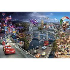 Cars 2 - World Tour plakat