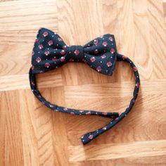 This DIY bow tie is such an easy way to use up... | ModCloth on Tumblr