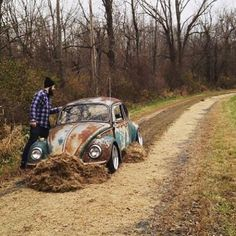 Classic VW - you can go too low