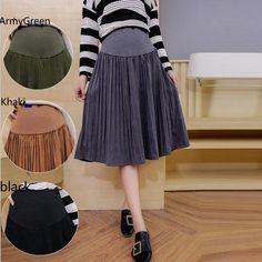 bdb60e864cec5 New Autumn and Winter Fashion Pregnant Women Skirt. Kidzons · Maternity  Clothing
