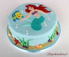 Mermaid Ariel Birthday cake - For all your cake decorating supplies, please visit craftcompany.co.uk