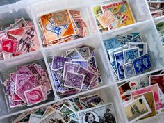 stamps. Going to start organizing mine like this....