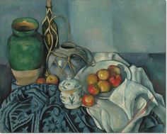 Paul Cezanne - Still Life with Apples Painting