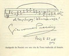 Giacomo Puccini, la Tosca