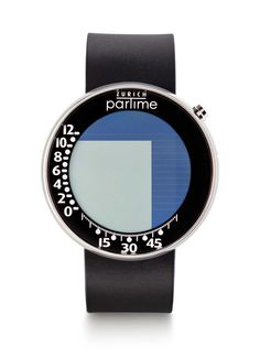 Swiss Hourglass for the Wrist: Partime, designed by Andreas Mossner