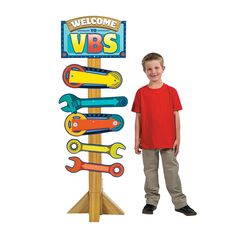Geared+Up+for+God+VBS+Directional+Sign+-+OrientalTrading.com
