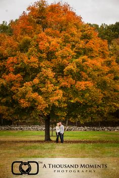 Engagement Photography, New England, Fall, Rustic