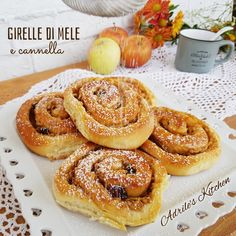 Sweet Recipes, Cake Recipes, Little Cakes, Italian Desserts, Breakfast Cake, Sweet Cakes, Cakes And More, Cinnamon Rolls, Bakery
