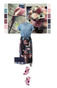 """""""Palette"""" by noconfessions ❤ liked on Polyvore featuring Burberry, Rebecca Minkoff and Miss Selfridge"""