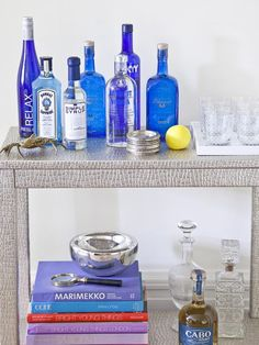 DIY Cocktails: Tips for Stocking Your Bar >> http://www.hgtv.com/entertaining/stocking-the-bar-for-a-cocktail-party/pictures/index.html?soc=pinterest