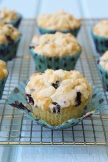 Brown Butter Blueberry Muffins | Spoonful of Flour