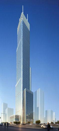Tianjin R&F Guangdong Tower - Tianjin, China.   © Goettsch Partners