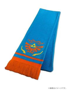 Link's official scarf from Hyrule Warriors that will be included with the Treasure Box edition of the game in Japan