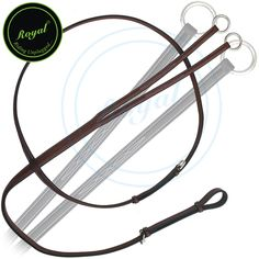 Royal Fancy Square Raised Running Martingale Regular price $58 Sale price $33 (Oak Brown/ SS Buckle)