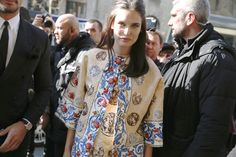 Bianca Balti fashion week