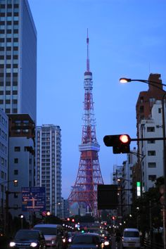 Tokyo tower, Tokyo, night view