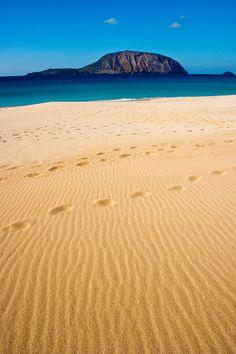 Playa de La Concha, isla de La Graciosa, Islas Canarias.