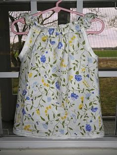 Glory in the Valley: Sweetest Top/Dress Tutorial