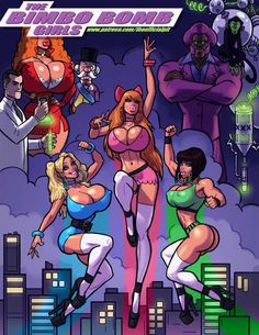 porn powerpuff girls John comics persons