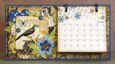 Я и мои рукоделки: Работы для ДК, календари, блокнот и обложка на паспорт.