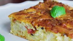 Lehký cuketový salát se sýrem a česnekem – RECETIMA Vegetable Casserole, Lasagna, Quiche, Goodies, Food And Drink, Menu, Favorite Recipes, Pasta, Bread