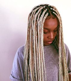 23 Cool Blonde Box Braids Hairstyles to Try Trendy Ice Blonde Box Braids Short Box Braids, Blonde Box Braids, Blonde Hair, Ice Blonde, Box Braids Hairstyles, Protective Hairstyles, Protective Styles, Hairstyle Braid, Hairstyles 2018