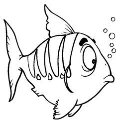 Preschool fishing printable coloring pages Trials Ireland