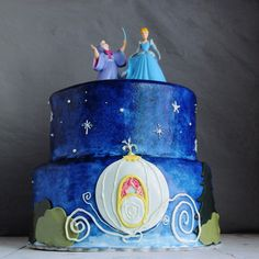 cinderella at midnight.... a designed cake for the occasion featuring the pumpkin carriage... gluten-free too!