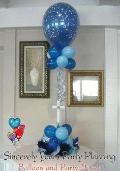 triad balloon centerpieces winston salem party decorations cross centerpiece