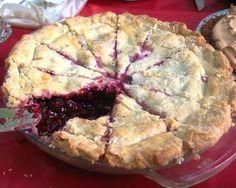 Raspberry Blackberry Pie-a-dise by lapadia via food52  - my favorite dessert ever