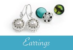 Dazzle and delight in a pair of earrings from Kameleon. #ChangeIsNatural #KameleonJewelry
