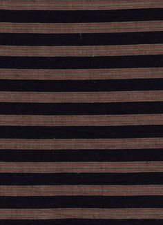 Fabric - Traditional - Woven Stripes - BEBE BOLD: JAPANESE TEXTILES & CRAFT